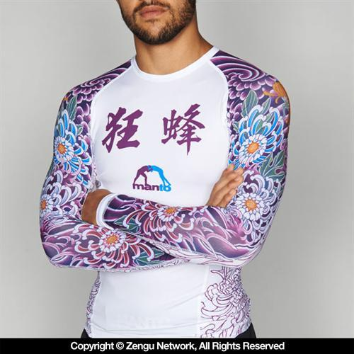 Manto Manto Krazy Bee Long-Sleeve Rashguard